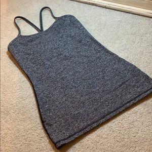 Lululemon heather gray tank top